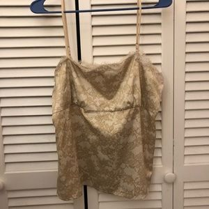 Gold New York & Company Camisole